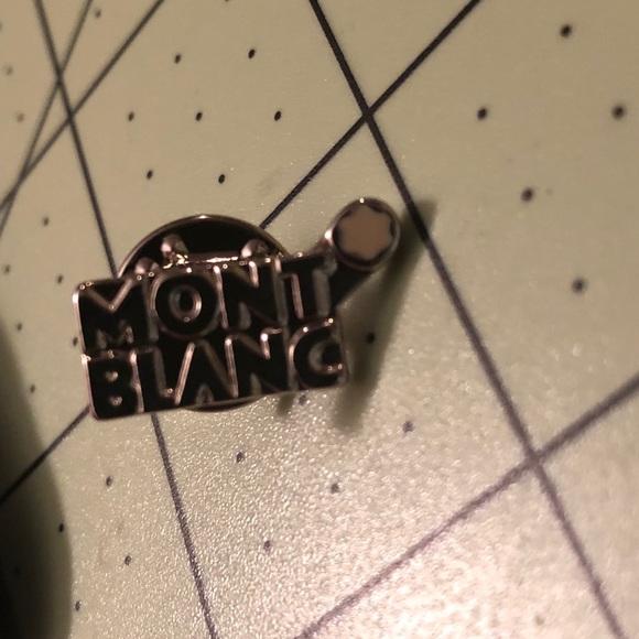 MontBlanc designer tie pin